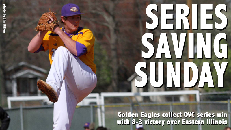 Golden Eagles notch another series win, down Eastern Illinois, 8-3