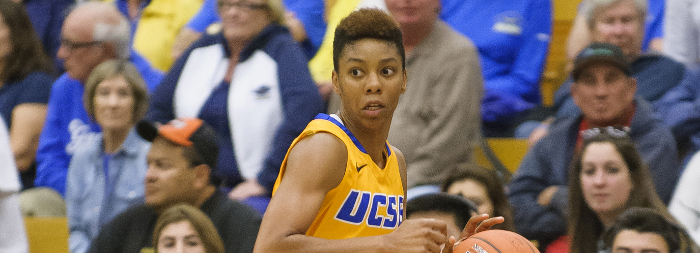 Mason's Career Night Leads UCSB to 66-62 Win Over Hampton
