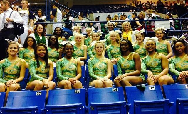 Lady Gator Competition Cheerleaders Compete for State Championship
