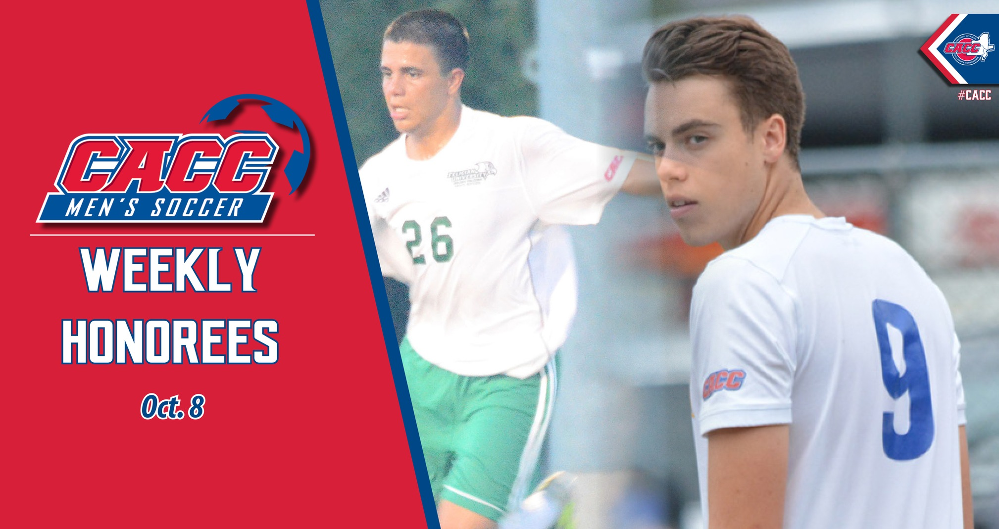 CACC Men's Soccer Weekly Honorees (Oct. 8)