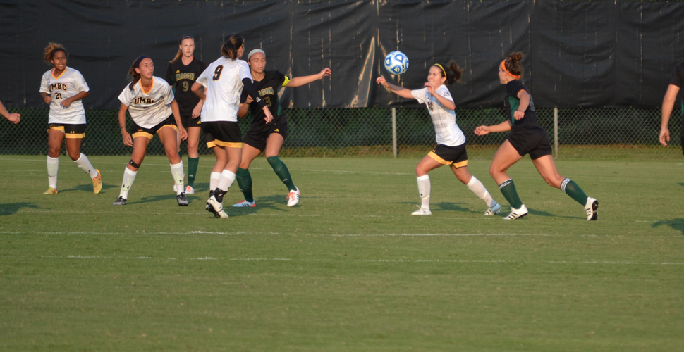UMBC Women's Soccer Falls in Double-Overtime to George Mason, 3-2
