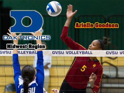 Arielle Goodson Named To Daktronics Volleyball Midwest Region Team