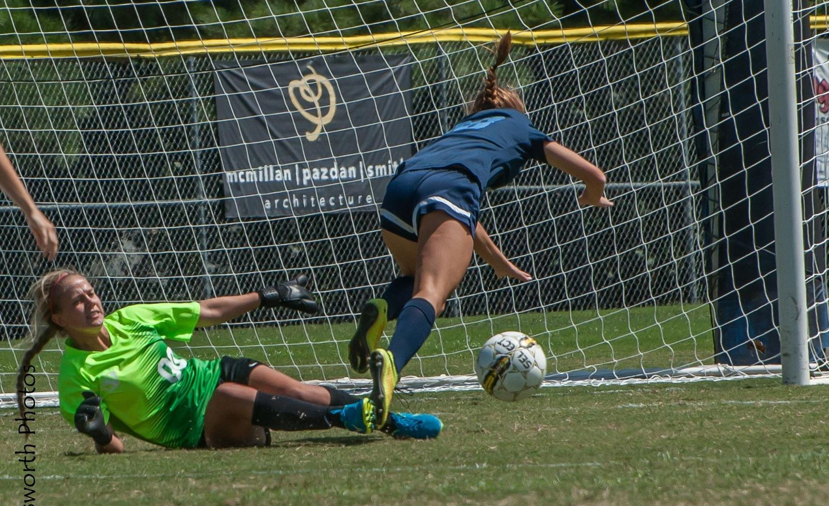 Women's Soccer loses to #13 Cape Fear CC