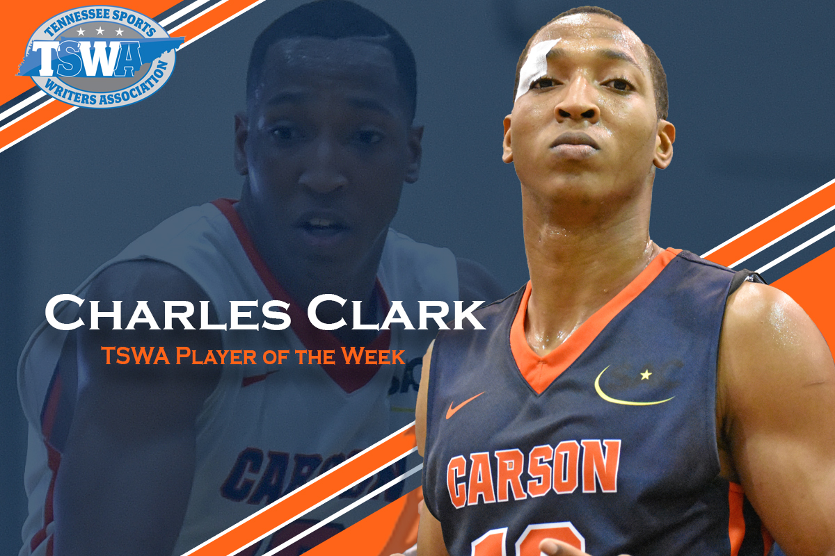 Clark adds TSWA Player of the Week hardware to trophy case