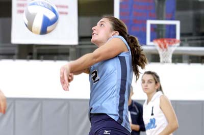 Women's Volleyball Splits at Tri-Match
