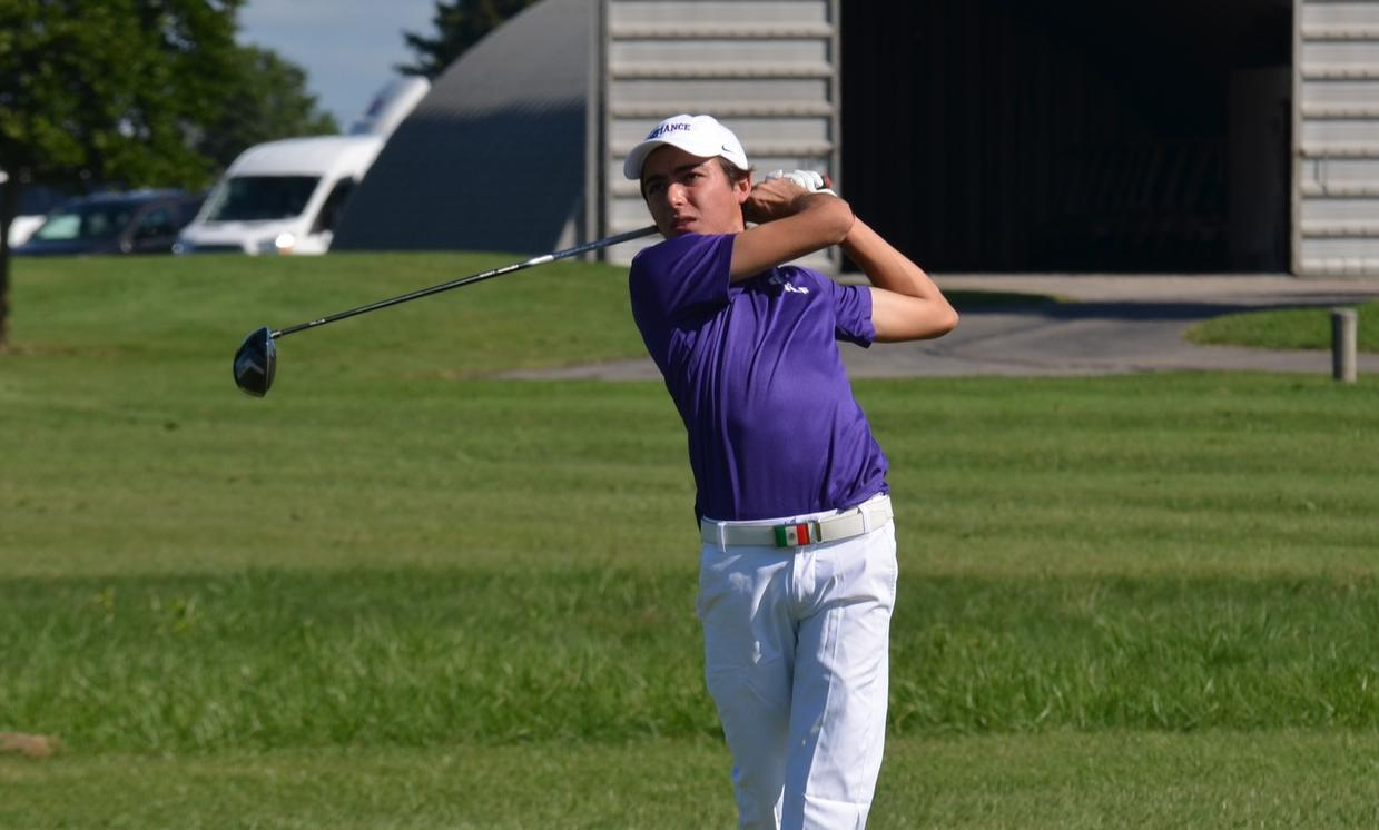 Clingaman, Gutierrez Pace Men's Golf in Third Place Finish