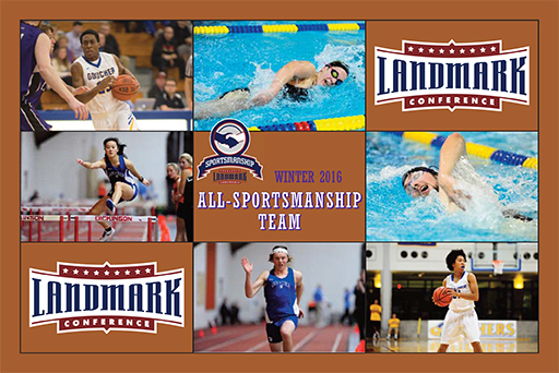 Six From Goucher Land On All-Sportsmanship Team