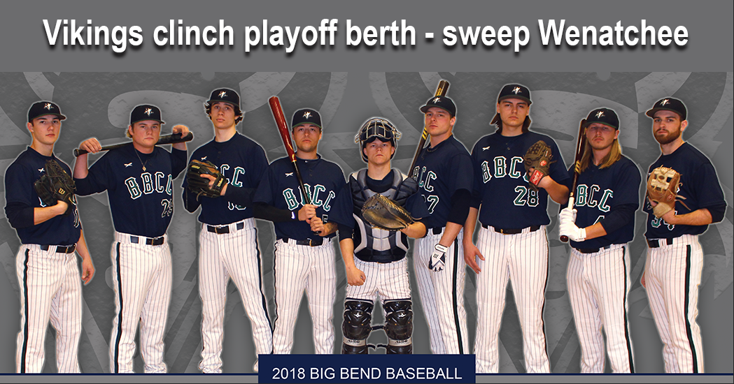Big Bend Community College Baseball returns to the Northwest Athletic Conference Playoffs for the first time since 2002.