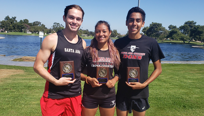 Barajas Hits a Sub 20 Minute Mark, Both SAC Teams Place 4th in Cerritos Invitational