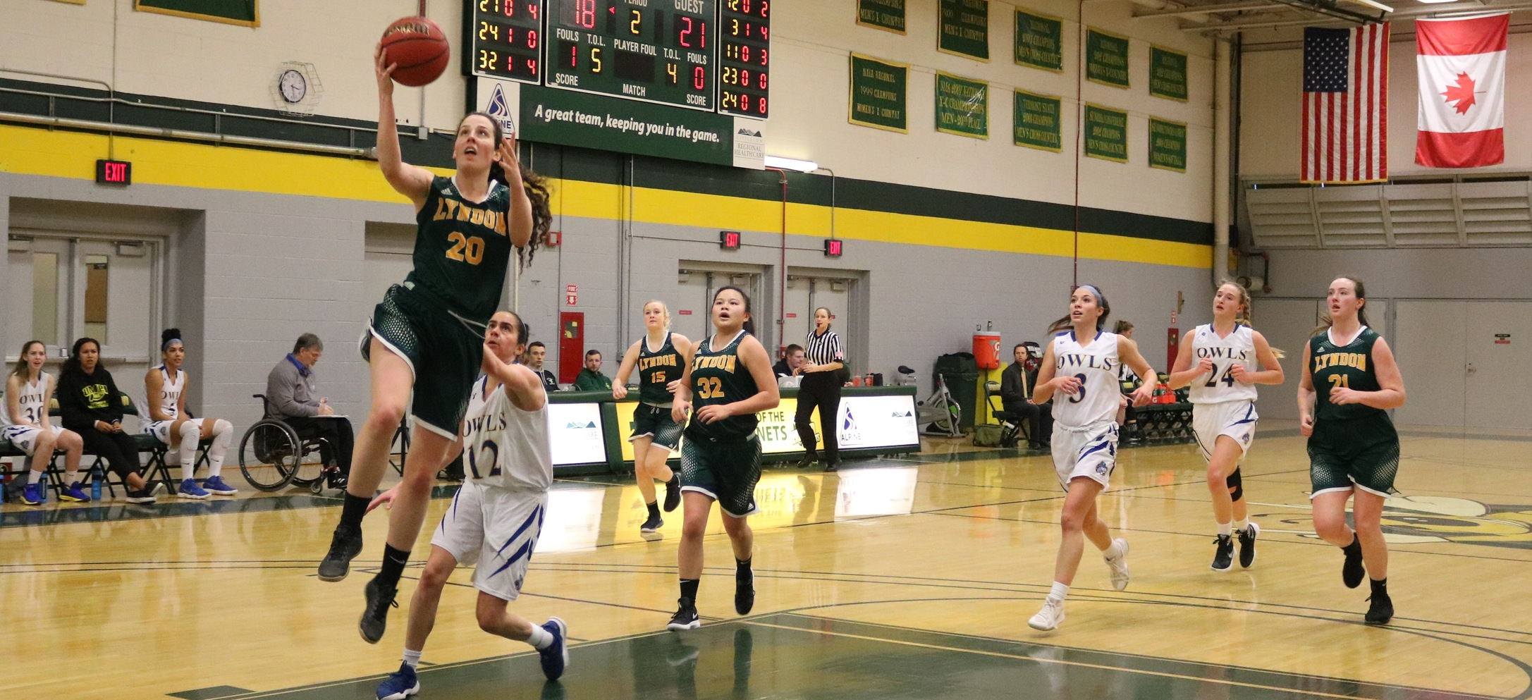 Hornet women break open a close game late to complete weekend sweep of Owls