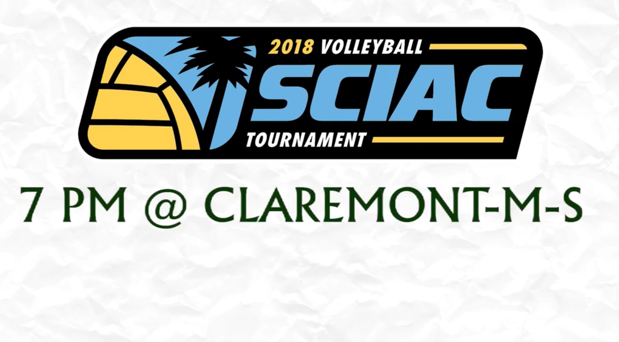 Volleyball set for SCIAC Semifinals