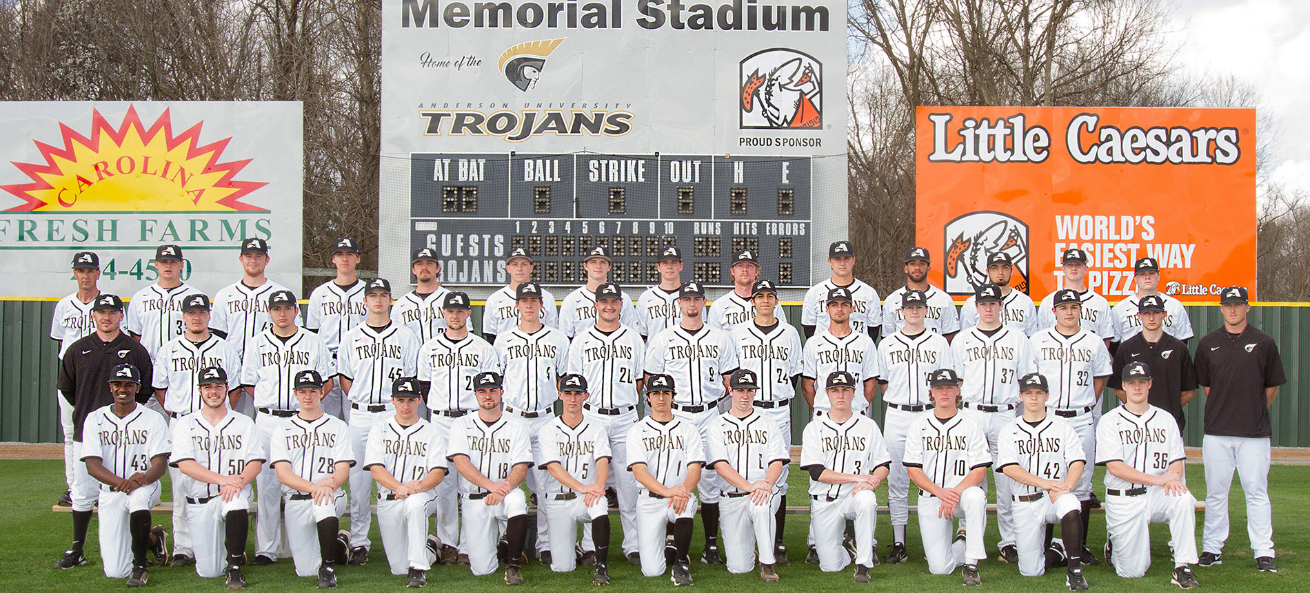 Trojans Eliminated from SAC Baseball Tournament after Knocking off Tusculum and Falling to Lincoln Memorial