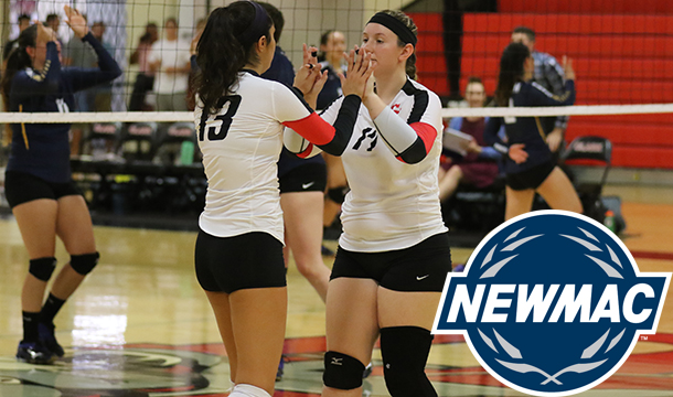 Volleyball To Host NEWMAC Quarterfinal On Tuesday