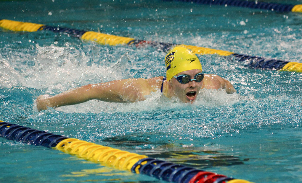 Emory Women's Swimming & Diving Gain Commanding Lead at UAA Championships