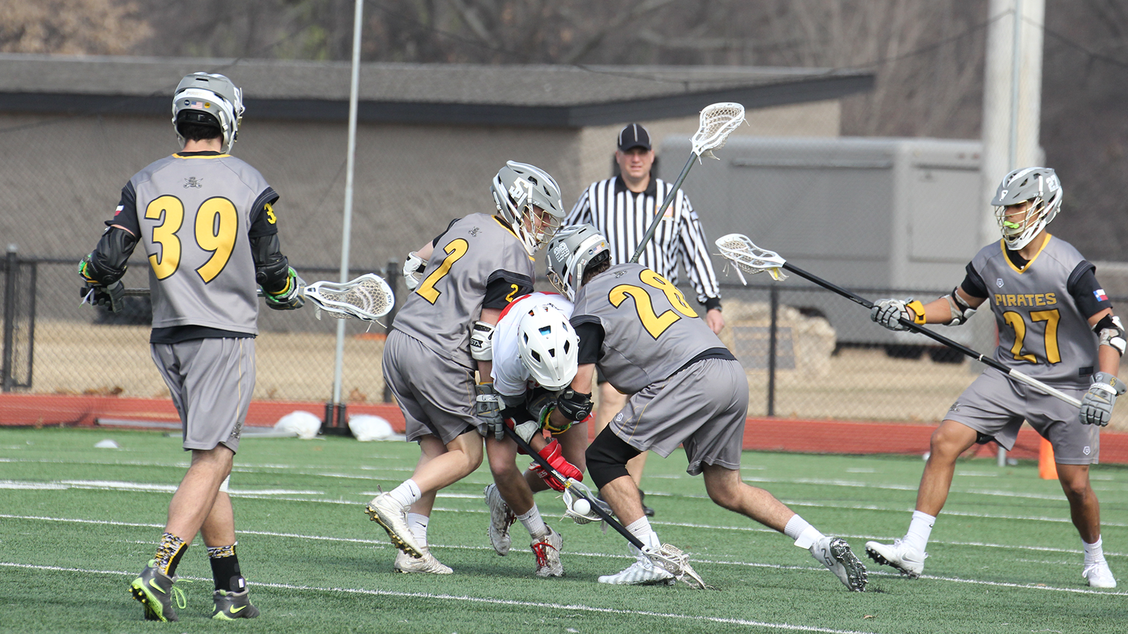 Men's lacrosse edged out by Rhodes 12-9
