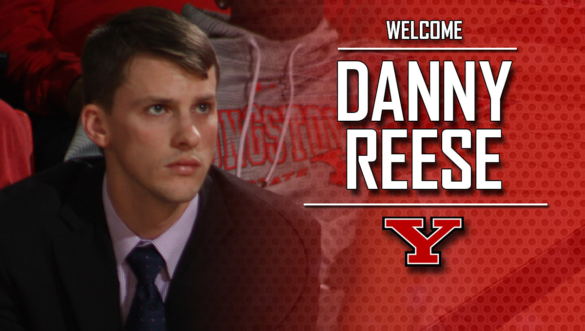 Danny Reese Named YSU Men's Basketball Assistant to the Head Coach