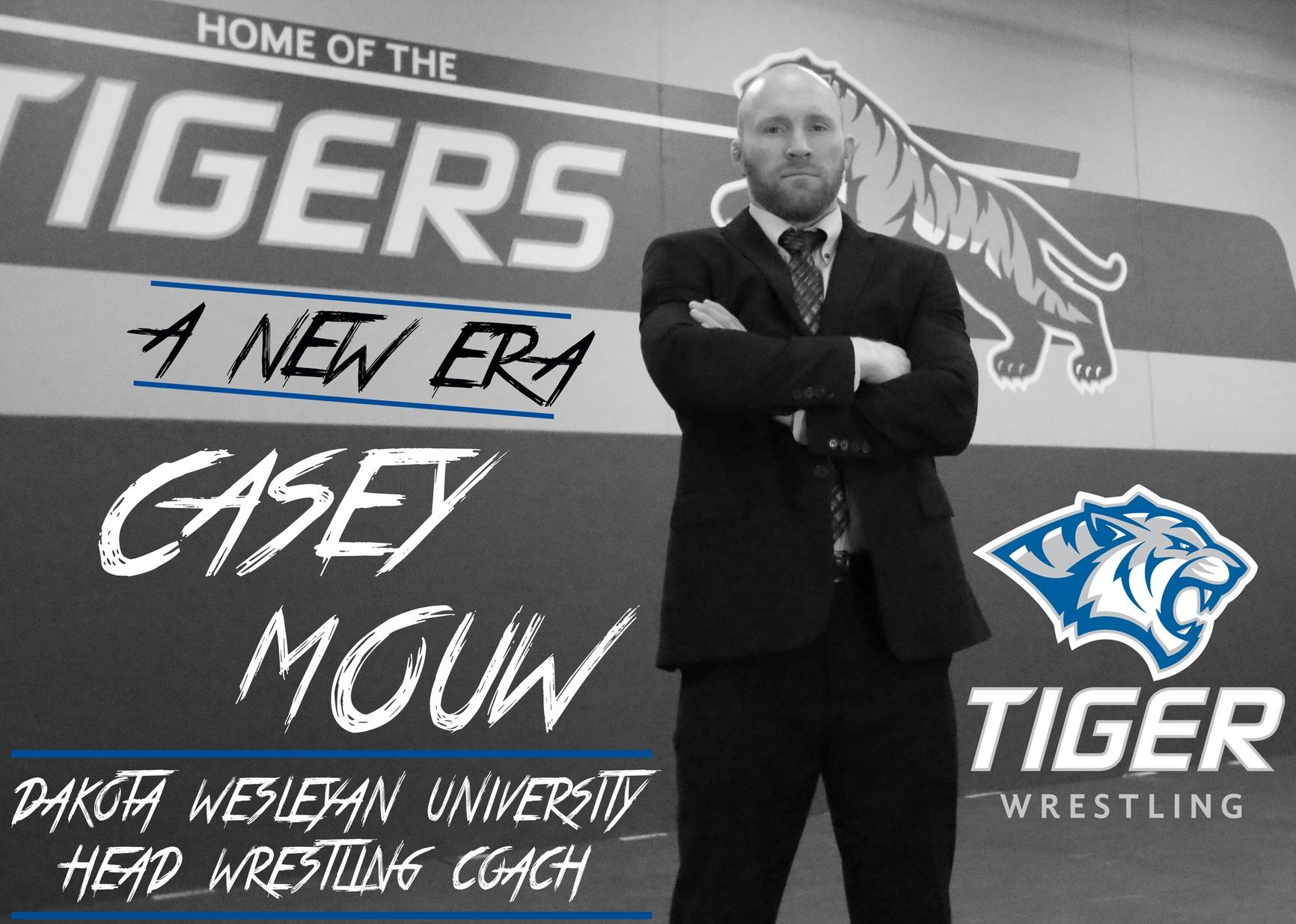 Casey Mouw named Dakota Wesleyan University head wrestling coach