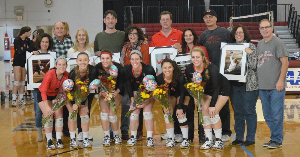 Tartans Top Two Opponents on Senior Day