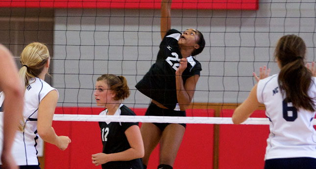 Payne Delivers 11 Kills and 11 Digs as LC Volleyball Rolls at Roanoke