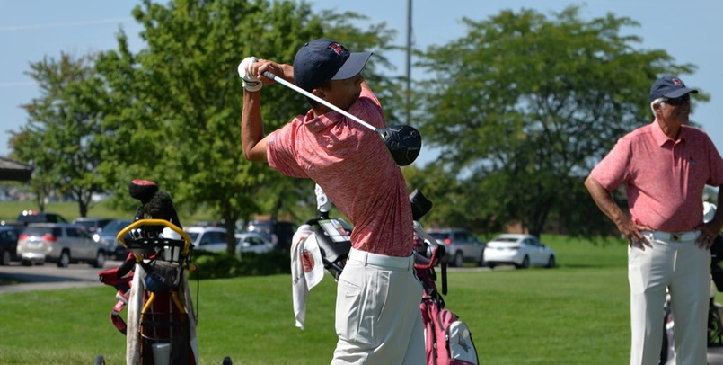 Cardinal Men remain in 9th place after second round of Greyhound Invitational