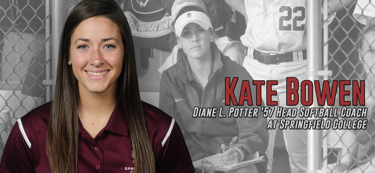Kate Bowen G'16 Named Diane L. Potter '57 Head Softball Coach at Springfield College