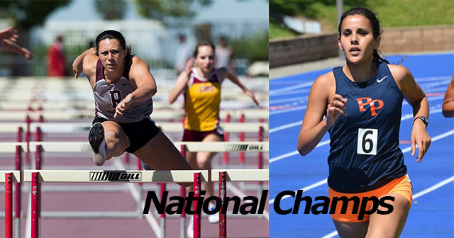 Redlands' Alison Smith And Pomona-Pitzer's Maya Weigel Win National Titles
