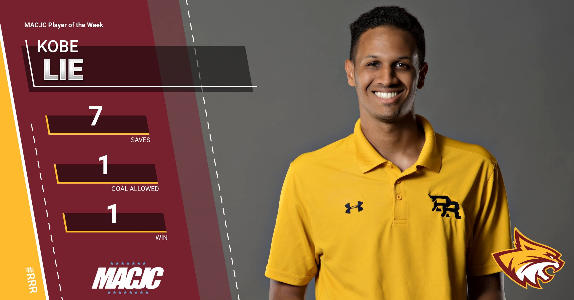 PRCC's Kobe Lie wins another MACJC honor