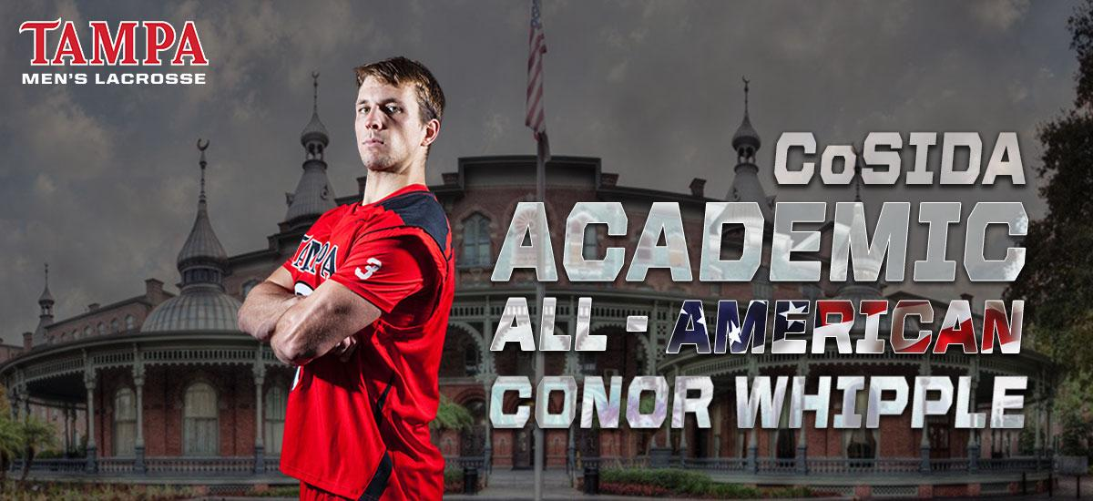 Conor Whipple Named Second-Team Academic All-American
