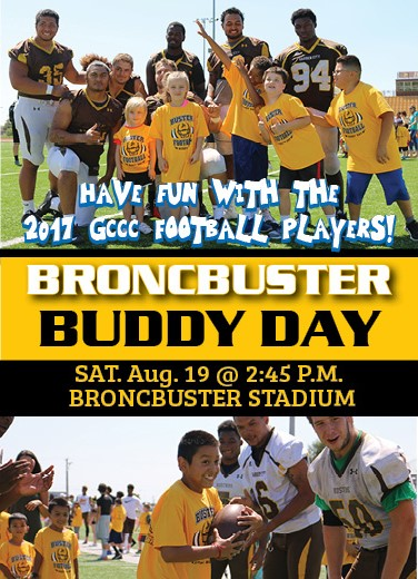Broncbuster Buddy Day set for Aug. 19