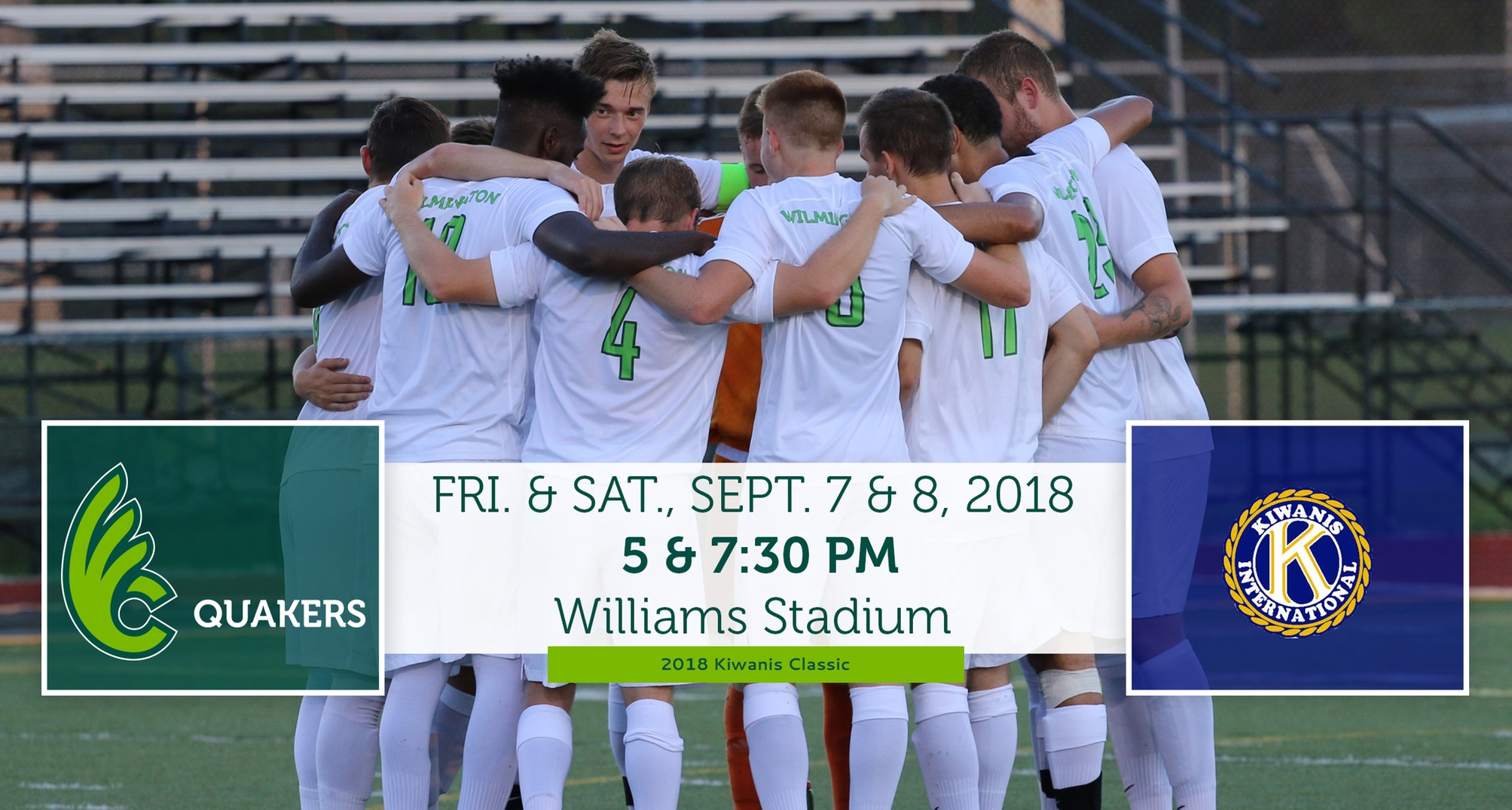 Men's Soccer to Host 2018 Kiwanis Classic This Weekend