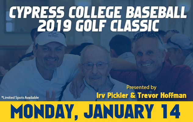 REGISTER: Cypress College Baseball Golf Classic