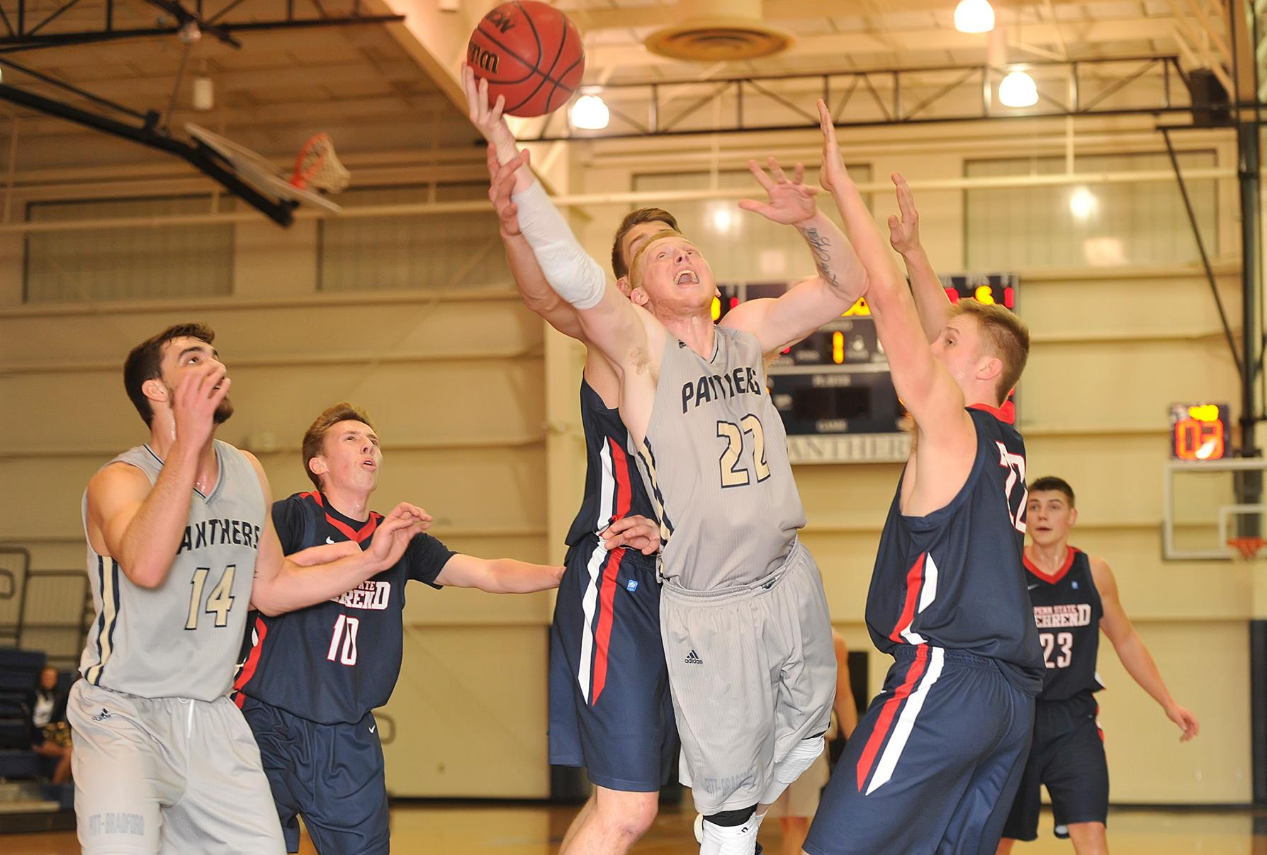 Upb Men Secure Amcc Berth With Victory Over Medaille University Of Pittsburgh Bradford