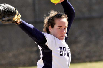 Ducinski pitches Judges to ECAC softball win, but Keene takes second game