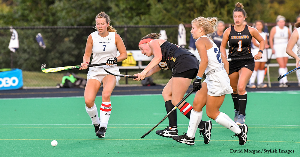 Field Hockey Knocks Off No. 4 Messiah