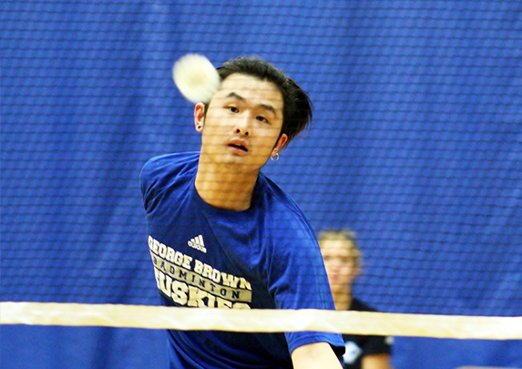 ACE ZENG AND MIKE RA LEAD WAY AS HUSKIES BADMINTON IMPRESS AT SEASON OPENING HUMBER CUP