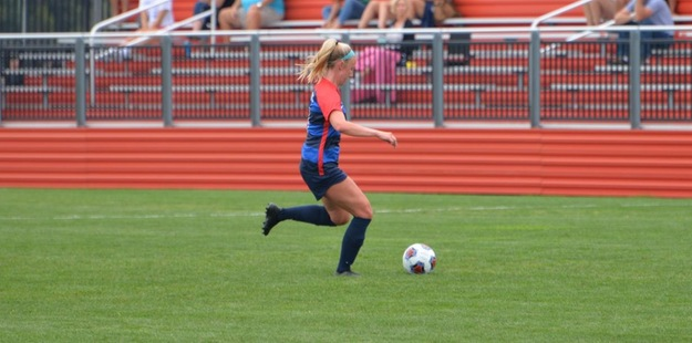 Lady Cardinals fall in close overtime match at top-ranked GVSU