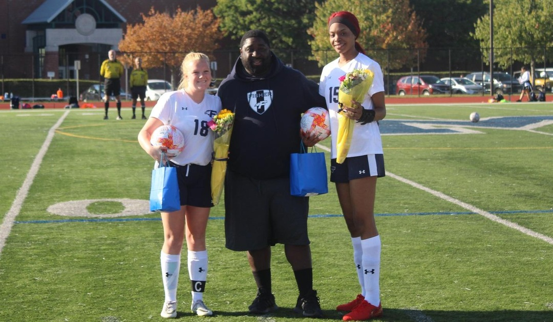 The Lady Falcons Celebrate Senior Day