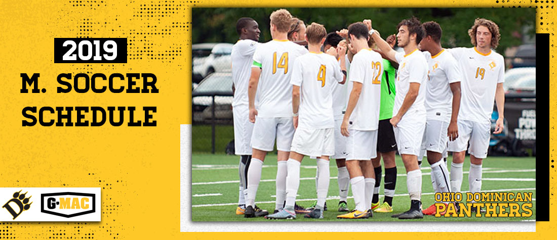 Men's Soccer Announces 2019 Schedule