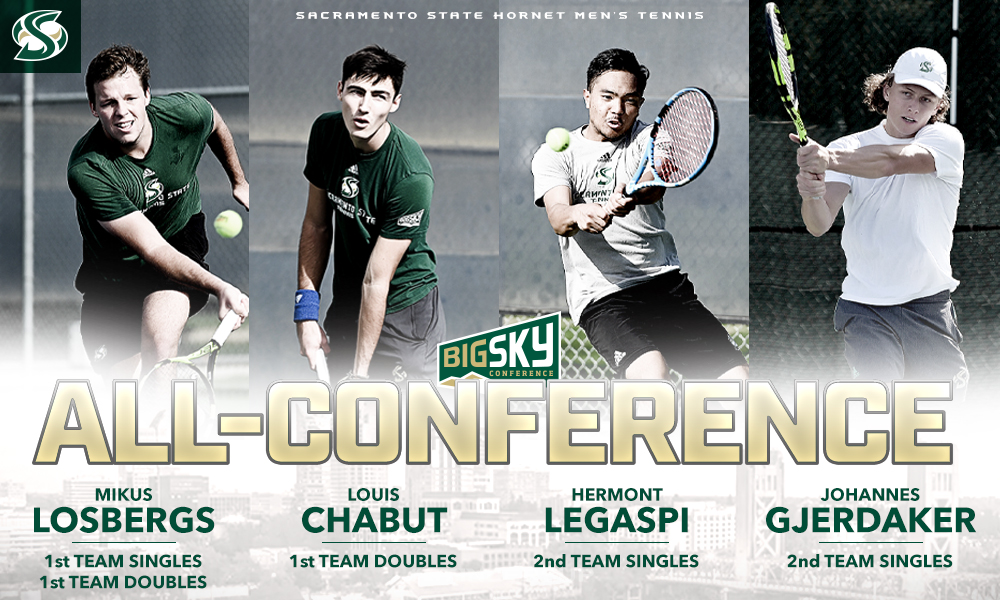 FOUR MEN'S TENNIS PLAYERS NAMED ALL-CONFERENCE; LOSBERGS FIRST TEAM SINGLES