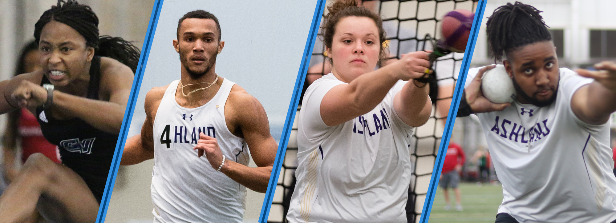 Ashland's Pringle, Helenthal and Hill, and GVSU's Wiggins are Week 5 track and field top athletes