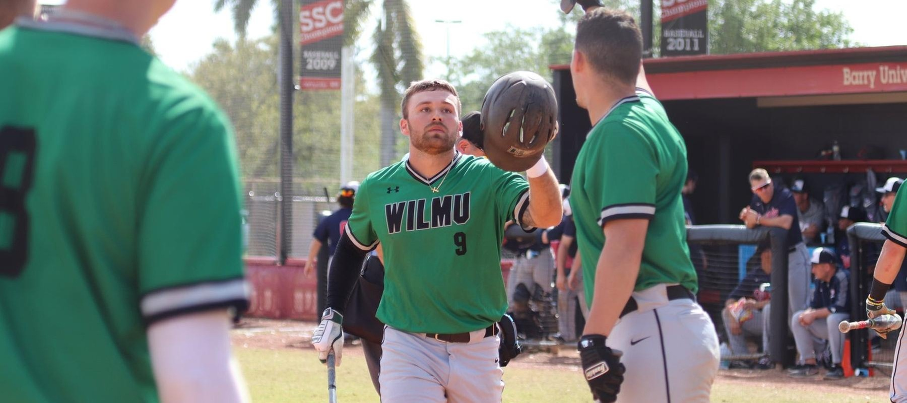 Copyright 2019; Wilmington University. All rights reserved. Photo by Heather Leslie. March 9, 2019 vs. Queens at Barry University.