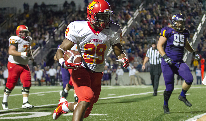 Ferris State Football Ranked Among Nation's Top 25 In Two Computer Polls This Week