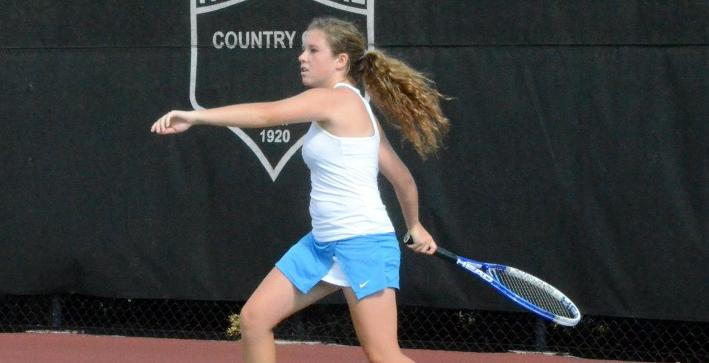 Women's Tennis defeats Dominican in NACC Tournament