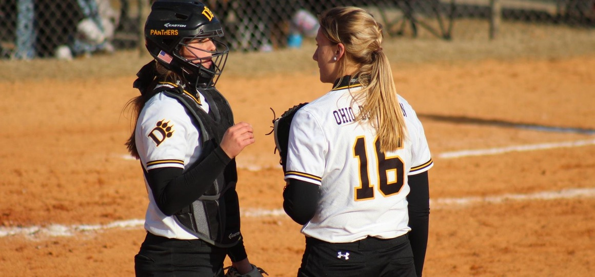 Long and Barber Lead Softball in Sweep of Maryville