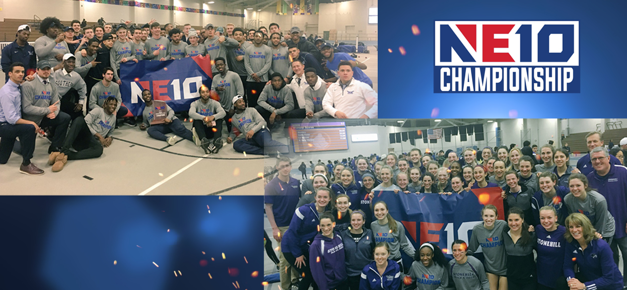 Southern Connecticut Men, Stonehill Women Crowned Champions at NE10 Indoor Track & Field Championships