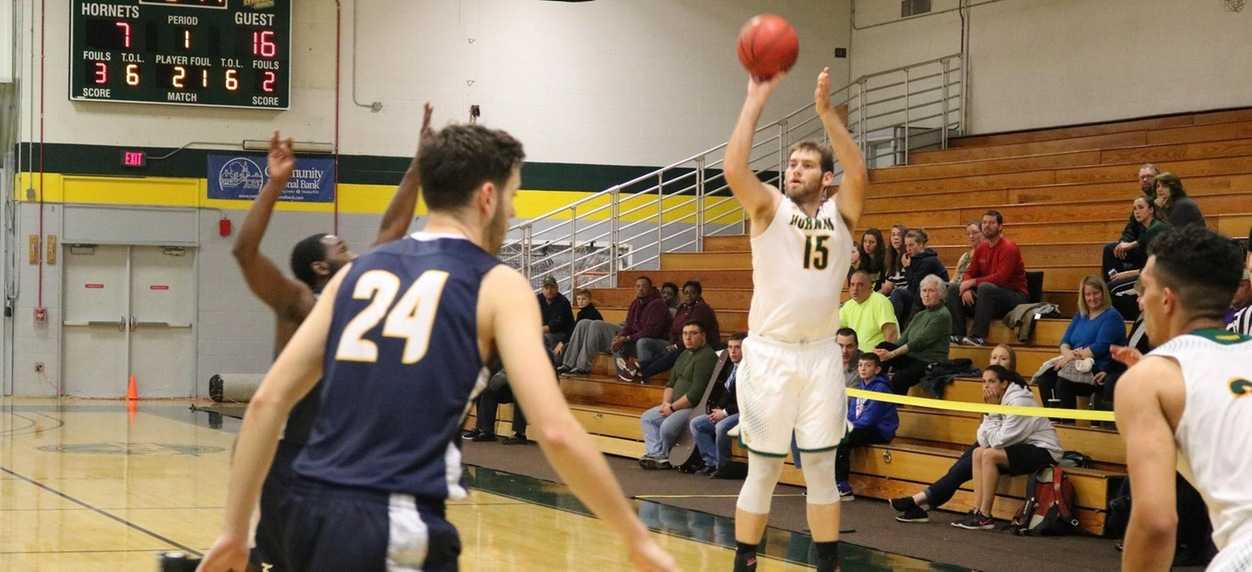 Fisher pulls away from Hornet men in season opener