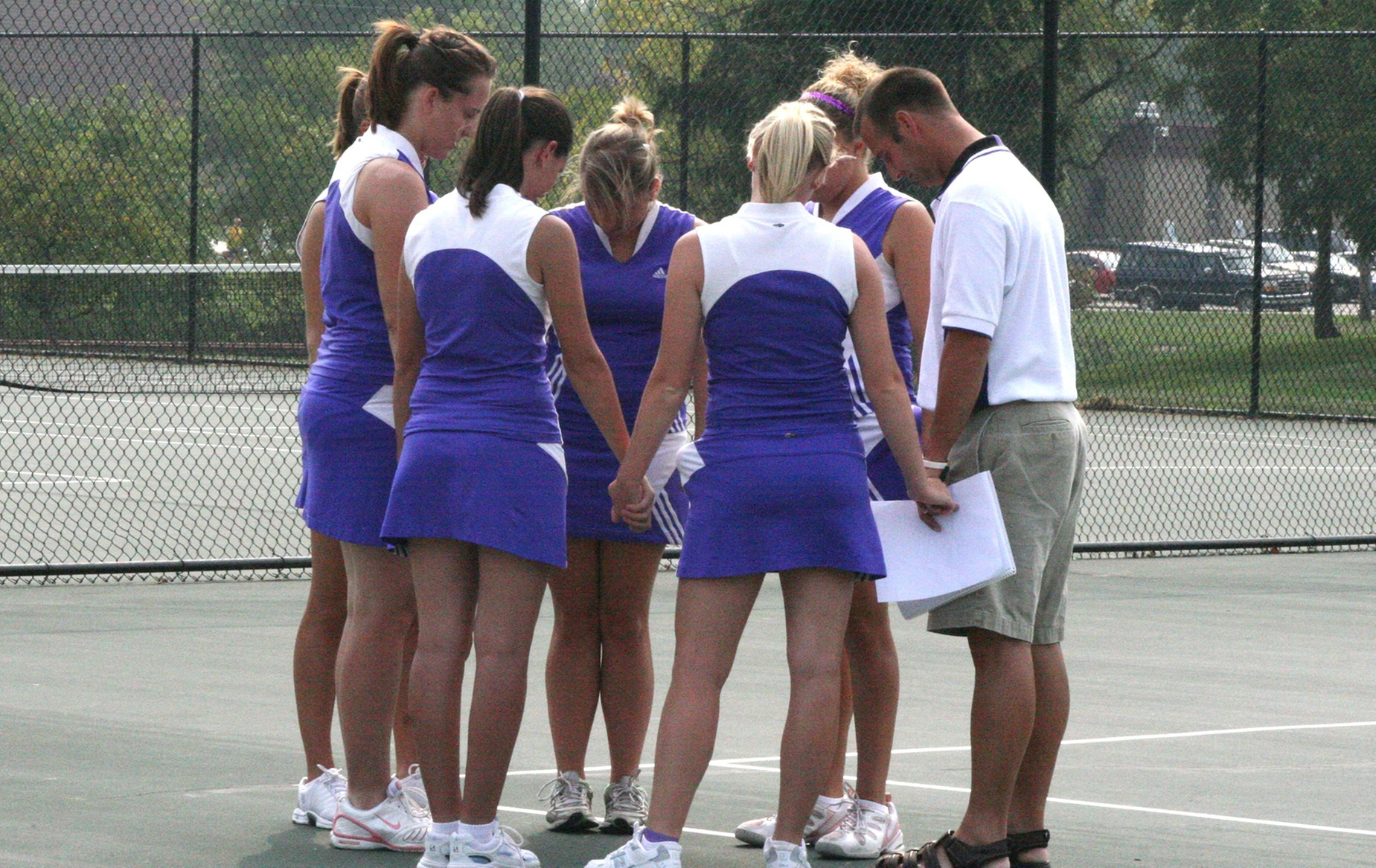 Women's Tennis Drops HCAC Tri-match at Anderson