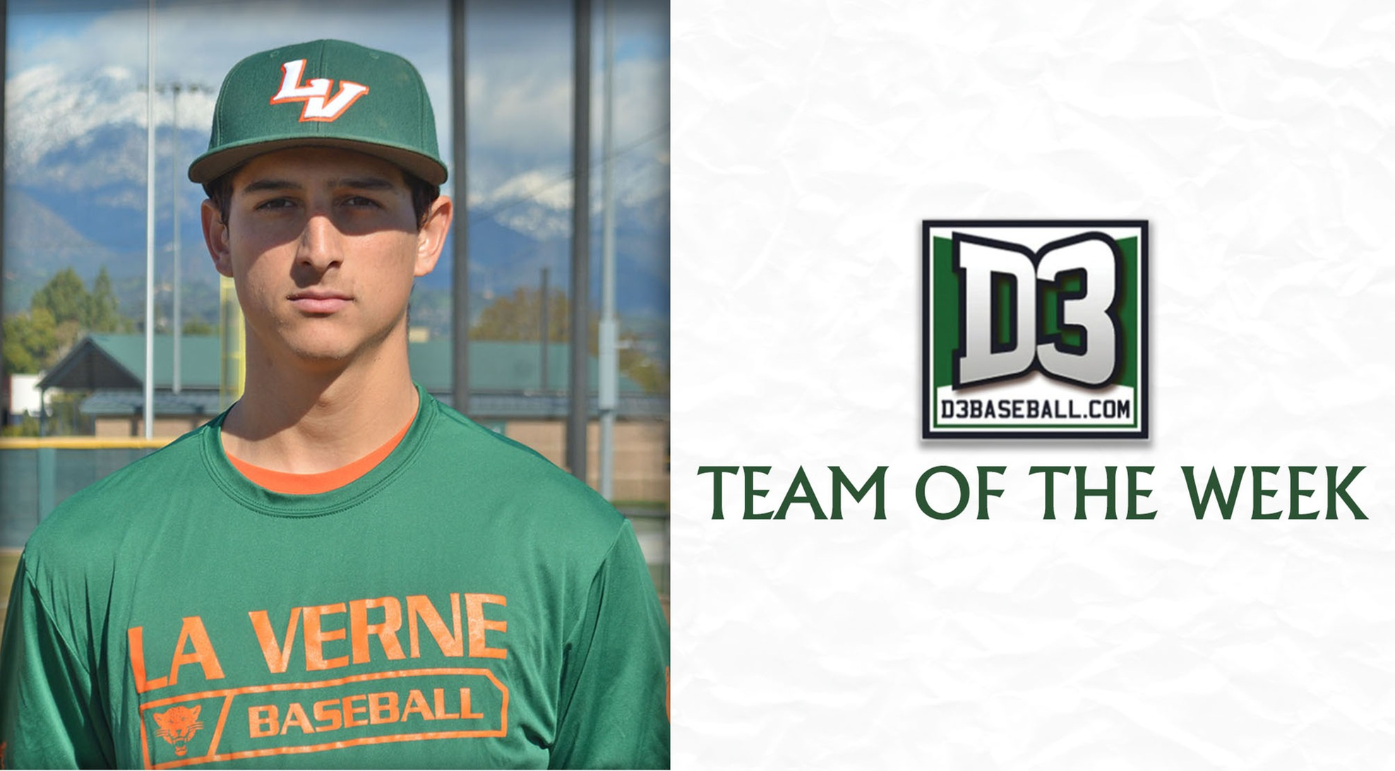 Galan Named to D3Baseball.com Team of the Week
