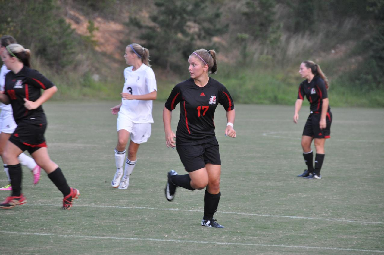 Women's Soccer: Stanfield's hat trick sends Panthers past Toccoa Falls