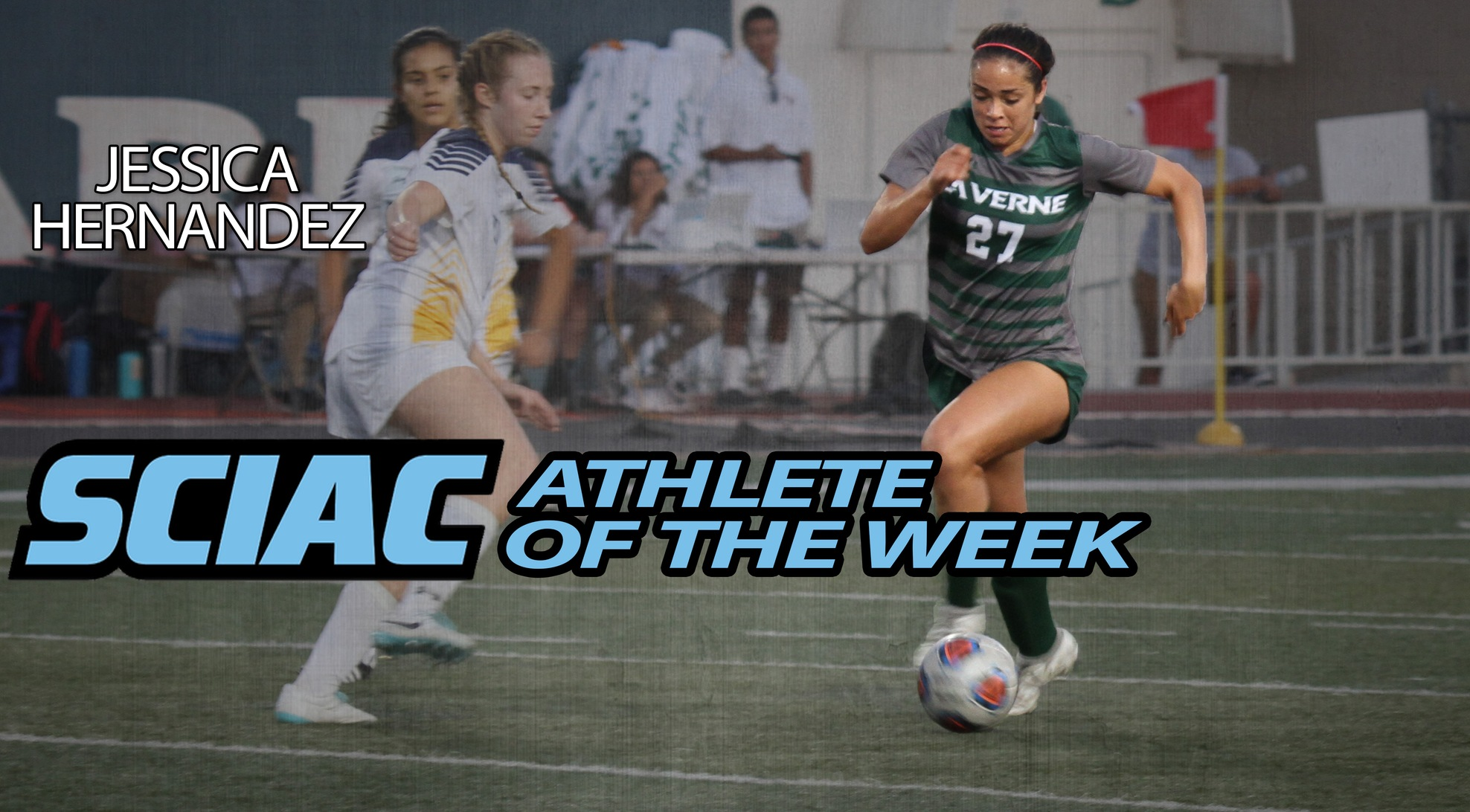 Jessica Hernandez named SCIAC Athlete of the Week